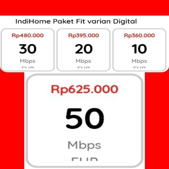 indihome Pulogadung fit varian digital