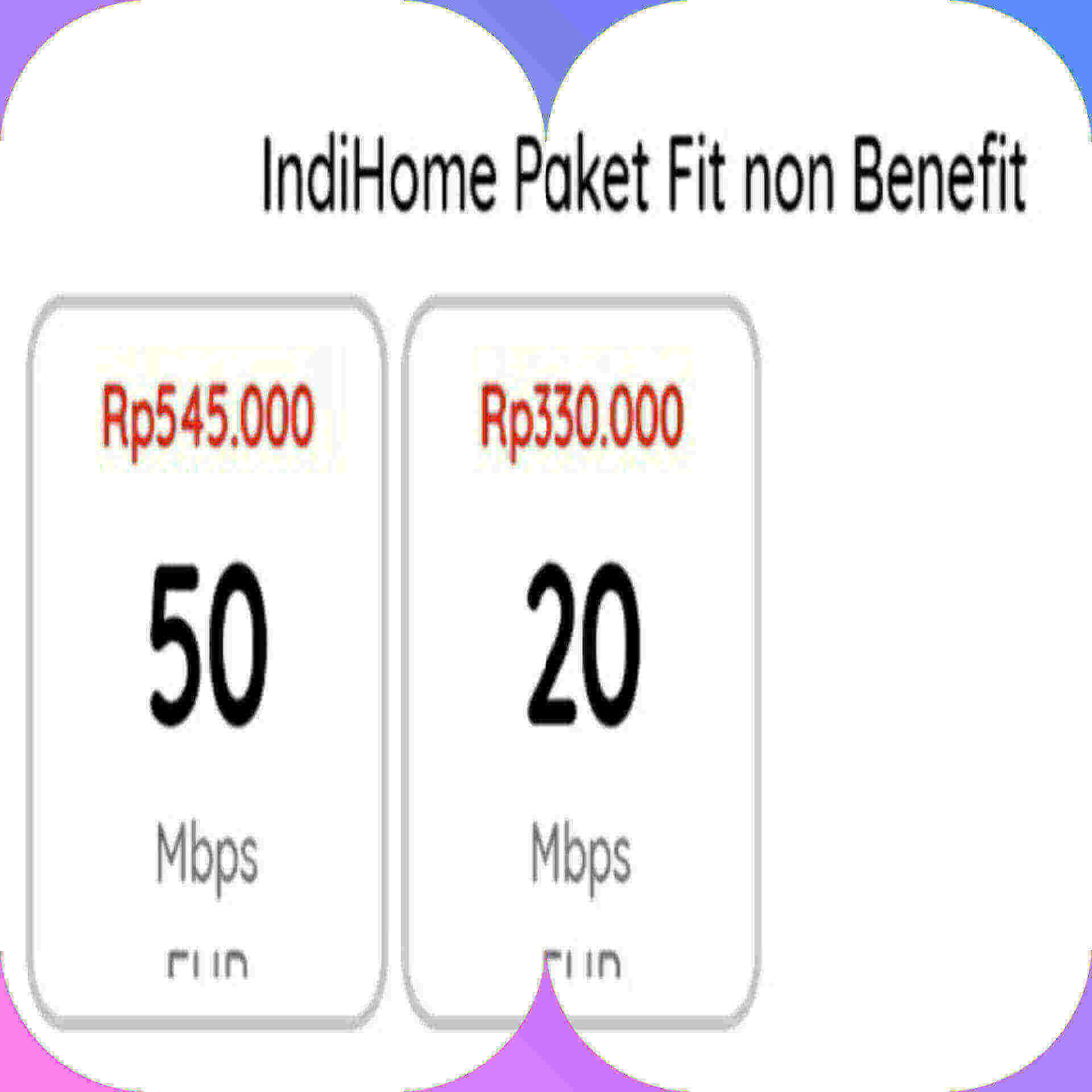 indihome fit non benefit